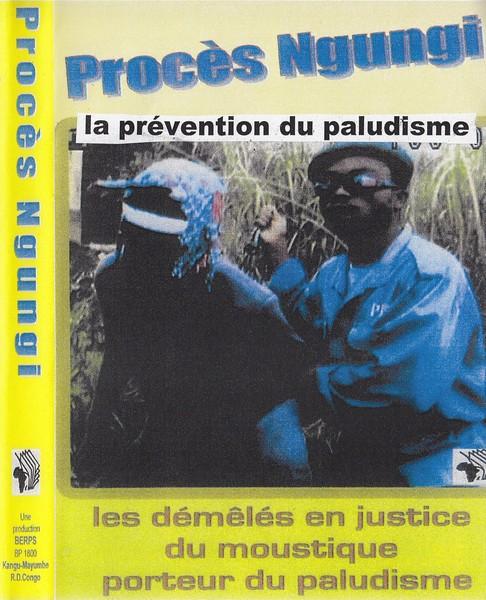 Couverture du DVD du film « Procès Ngungi. Les démêles en justice du moustique porteur du paludisme »
