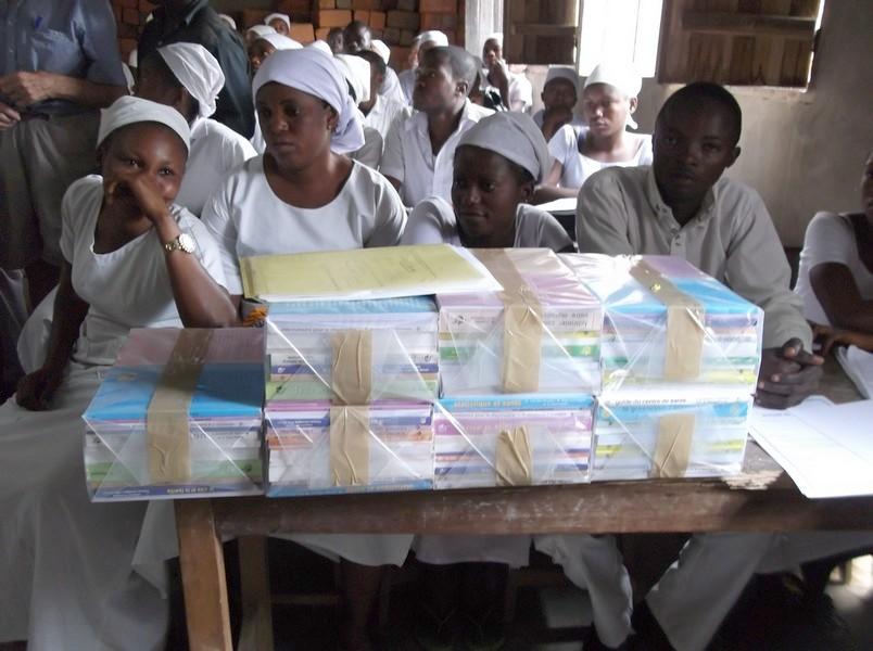 La bibliothèque pour élèves infirmières
