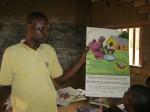 Une boîte à images utilisée dans une école au Congo